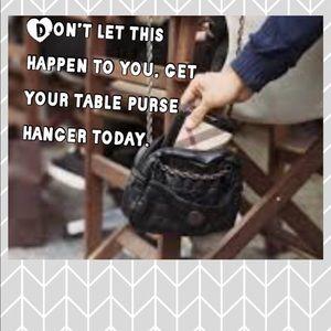 Handbags - Flower Table Purse Hanger Hook